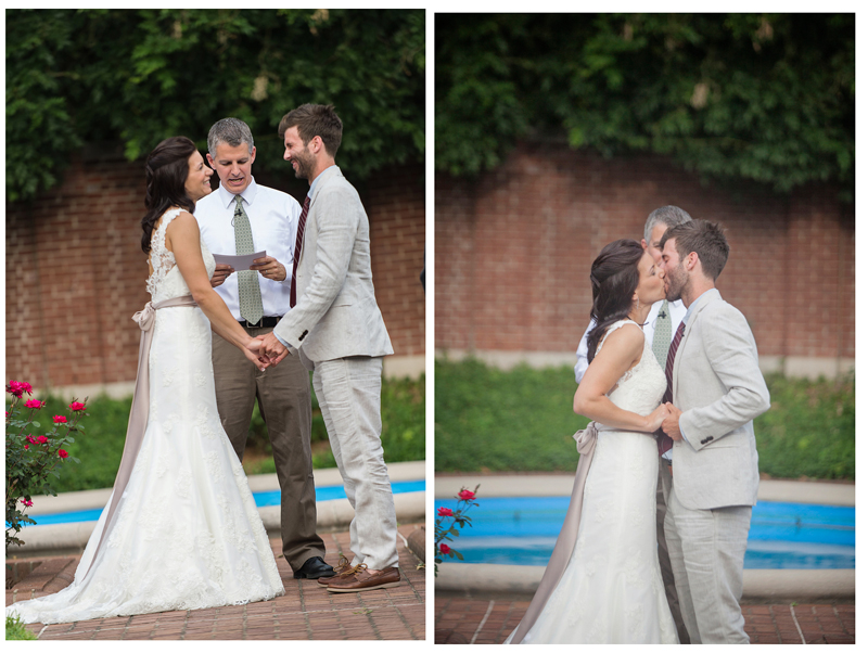 Make sure your Louisville, KY wedding photographer takes photos during the ring exchange.
