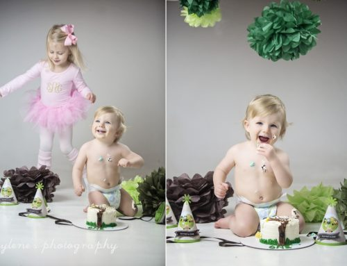 Forrest is One! Cake Smash Session
