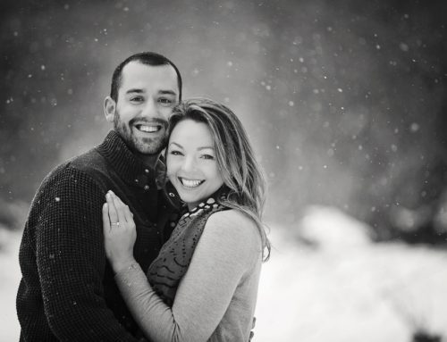 Snow Engagement Session