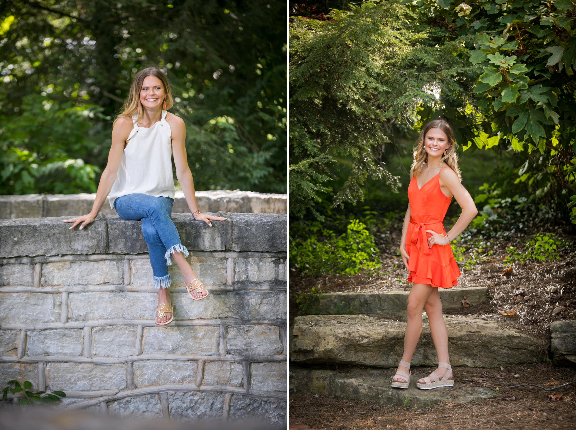 For your senior portraits session with Kylene Photography in Louisville, KY, bring your favorite school accessories.